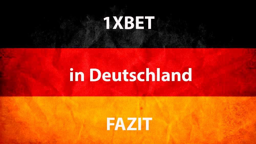 1xBet bonus in Deutschland